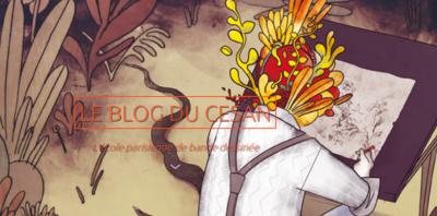 Ange sur le Blog de l'école de BD Cesan